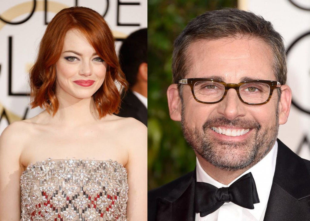 Emma Stone and Steve Carell MGID's Most Clickable Oscar® Nominees